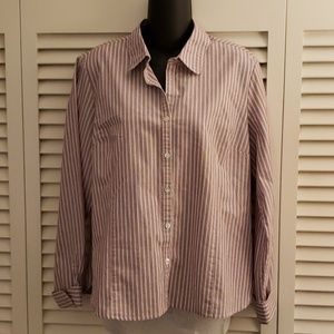 George button down shirt size 12-14